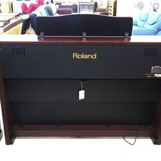 北海道/千歳市 Roland/ローランド 電子ピアノ HP507-GP 2012年製 88鍵盤 椅子付属 近郊配送/店頭でのお受渡し大歓迎 - 楽器