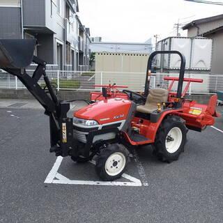 【ネット決済】鳥取 ヤンマー 14馬力 4WD トラクター フロ...
