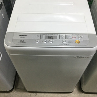洗濯機 Panasonic 5kg 2018年製 NA-F…