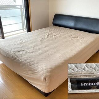 【定価30万】フランスベッド ダブルサイズ ダブルベッド …