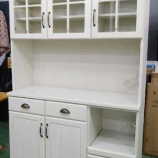 ニトリ キッチンボード ミランダ2120 WH  120×45×195