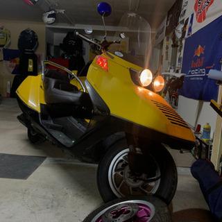 新品パーツ多数 走行小 フュージョン バイク屋購入後未使用