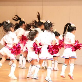🌈月4千円~キッズチアダンス教室🌈カルチャースクール ミジー