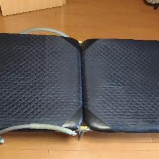 値下げ!《引取限定》折り畳み式シングルベッド リクライニング