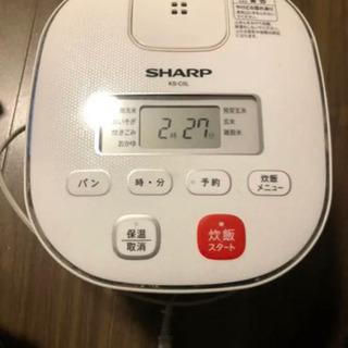 【ネット決済】炊飯器 SHARP  3合炊き