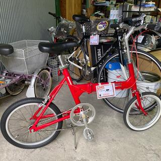 🍀ブリヂストン/折りたたみ自転車(アルミ製)