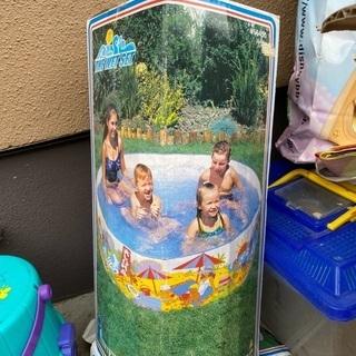 子供用プール 海遊びセット マットなど まとめて