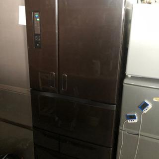 美品 動作確認済 東芝 6ドア 冷凍冷蔵庫 GR-E62FX 6...