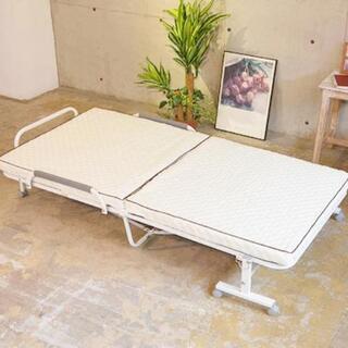【ネット決済】新品コンパクト折り畳みベッド