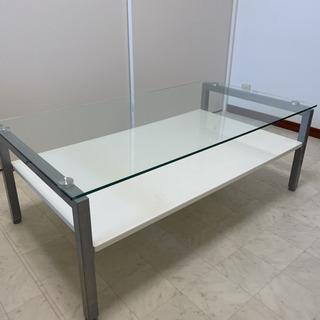 【ネット決済】ニトリガラステーブル ニトリ センターテーブル