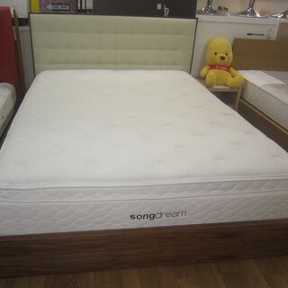 R051 高級 SongDream ワイドダブルベッド、30cm...