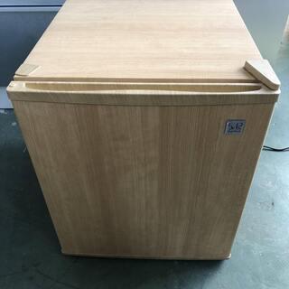 [おしゃれな木目調] 1ドア冷蔵庫 SR-R4802 48L ミ...