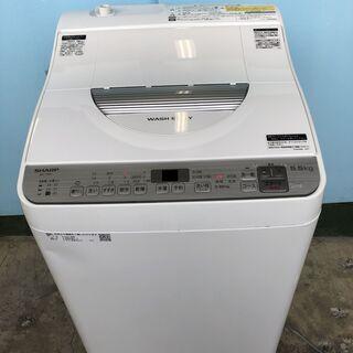 SHARP シャープ 電気洗濯乾燥機 洗濯5.5kg/乾燥3.5...