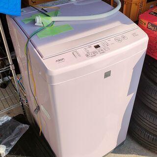 【値下げ】訳アリ洗濯機 7.0kgタイプ AQUA AQW-GS7E6