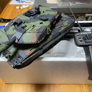 東京マルイ製 ラジコン 1/24 ドイツ連邦軍主力戦車 レオパル...