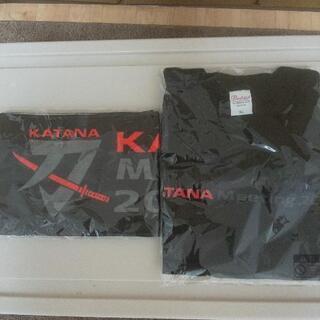 SUZUKI   KATANA  Tシャツとタオル