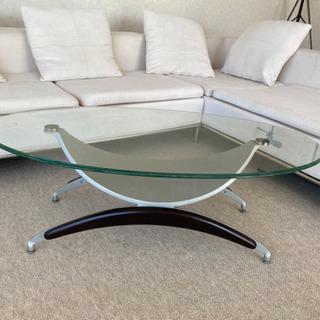 ローテーブル ガラステーブル コーヒーテーブル