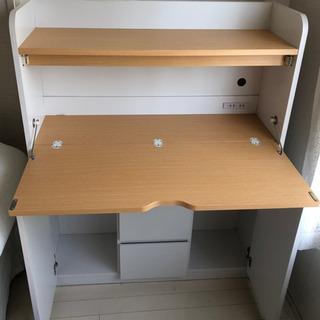 折りたたみ式学習机の画像