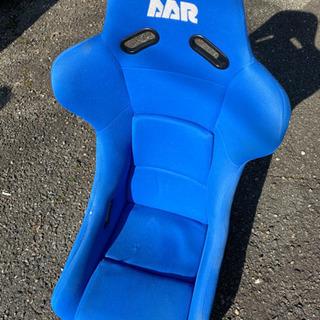 青色フルバケットシート