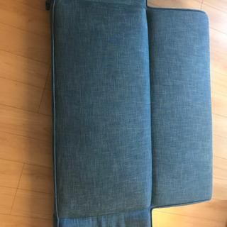 【無料】ソファベット(藍色) - 家具