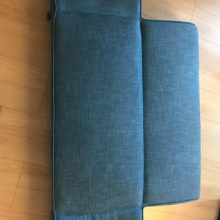 【無料】ソファベット(藍色) - 船橋市