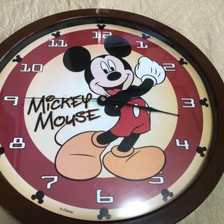 『お譲り先決定しました』ミッキー壁掛け時計の画像