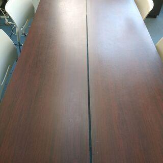 折り畳みテーブル オフィス用 会議デスク 無料でお譲りします。 - 台東区