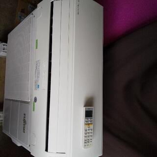 佐賀中古エアコンFUJITSU2014年2.2KW164番税込 - 売ります・あげます