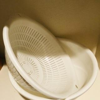 プラスチック製ホワイトボウルセット