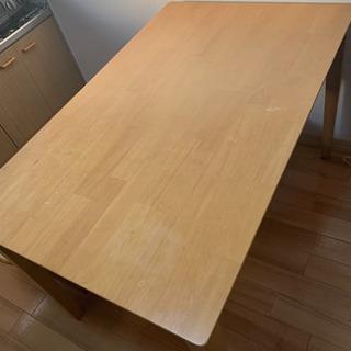 ダイニングテーブル デスクの画像