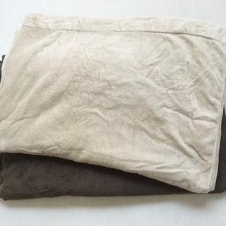 無印良品 タオルケット 2枚の画像