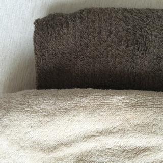 無印良品 タオルケット 2枚 - 家具
