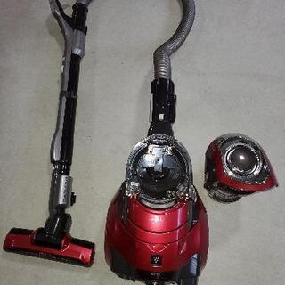 SHARP サイクロン掃除機 (赤) - 売ります・あげます
