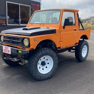 【車検付】H2  ジムニーJA11  4WD リフトアップ MT...