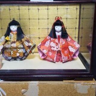 [40年モノ]紫峰作 宮様人形  ひな人形