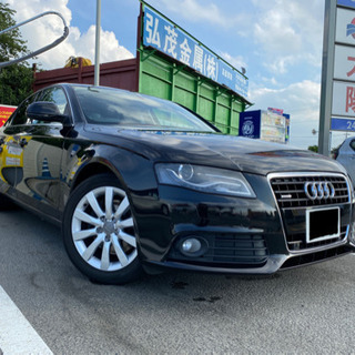車検なし 4WD AUDI A4 3.2FSI クワトロ …