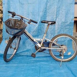 【ネット決済】シマノ 5段ギヤ 20インチ 自転車 クロスバイク...