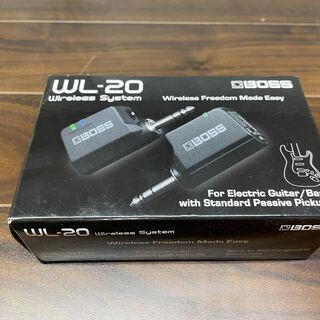 【愛品館八千代店】BOSS WL-20 ギターワイヤレスシステム...