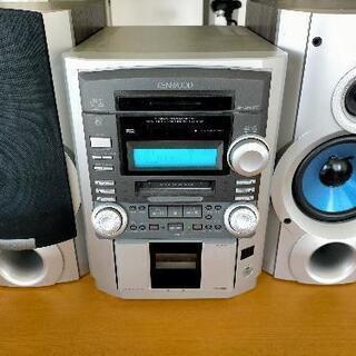 【ジャンク品】KENWOOD ミニコンポ LS-SH7