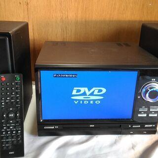 コンポ CD プレーヤー DVD 映像 横