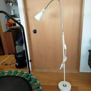 IKEA フロアライト スポットライト スイッチ付き