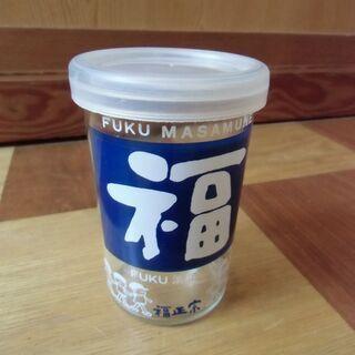 ●無料● フクカップ 福光屋 福正宗 ガラス 瓶 180ml(メ...