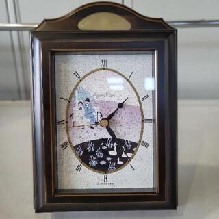 0723-003jmty 時計つき、キーホルダーボックス
