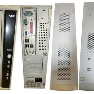 【バラ売り不可 5点セット】デスクトップPC 、ディスプレイなど