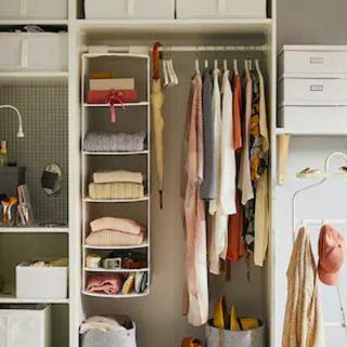 衣類の収容力抜群です! IKEA製ワードローブ 取りに来ら…