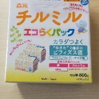 森永 チルミルエコらくパック詰め替え用 フォローアップミルク(4...