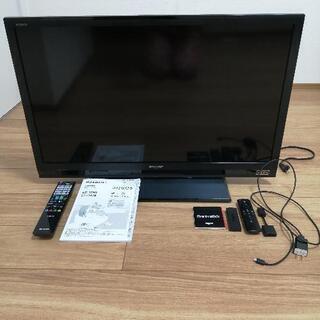 32型 液晶テレビ シャープ AQUOS と Amazon…