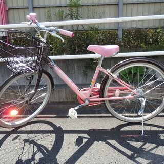 ブリジストン ジュニア 女の子用自転車