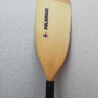【ネット決済】木製カヤック パドル 4分割