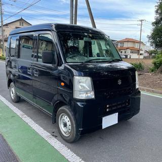 総額18.8万円 スズキ エブリイバン PCハイルーフ 車検4年10月まで すぐ乗れる タイミングチェーン 機関良好の画像
